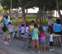 Actividades lúdicas en el parque Tossal, en una imagen de archivo