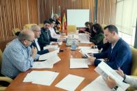 Reunión previa a la rueda de prensa de presentación de las novedades de la Cabalgata de Reyes