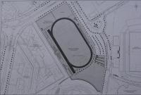 Plano de la Ciudad deportiva de Alicante Antonio Valls