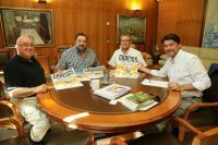 Encuentro oficial del Alcalde con representantes de la Unión de Diabéticos de Alicante