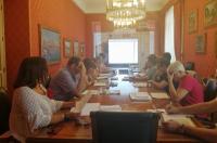 Mesa de trabajo sobre el Plan Ciudad
