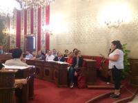 Intervención del colectivo armenio en el pelno