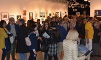 Numerosos seguidores de la fotografía en la apertura de la exposición