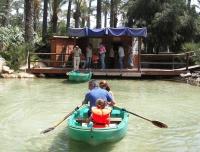 Paseo en barca en El Palmeral