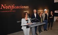 María Dolores Padilla toma la palabra en la presentación