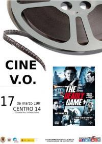 "Imagen cartel cine V.O. de la película "" The Deadly Game"""