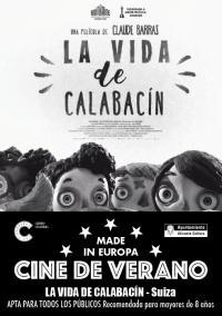 Cartel La vida de Calabacín