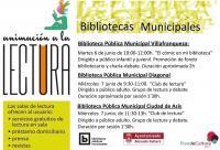 cartel con los actos organizados para los días 6 y 7