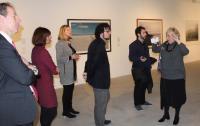 Acto de presentación de la exposición de fotografía en Cigarreras