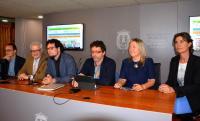 Mesa de presentación de la nueva Agenda