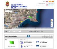 Estado de las playas de Alicante