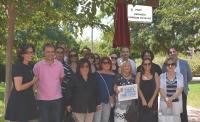 Concejales, familiares y allegados que han tomado parte en el acto