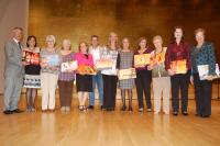 Presentación del libro 'Cuaderno de Bitácora' realizado por 150 mujeres de asociaciones de Alicante e ilustrado por APSA