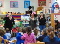 Uno de los eventos de animación lectora para público infantil, celebrado en su día en Ciudad de Asís