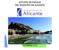 Estudio Paisaje Catálogo de Protecciones de Alicante