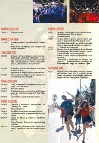 Programa de Fiestas El Rebolledo 2018