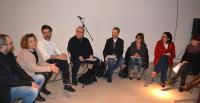 Los artistas explican los proyectos que van a abordar en Cigarreras
