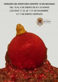 Horario Navidad Centro 14