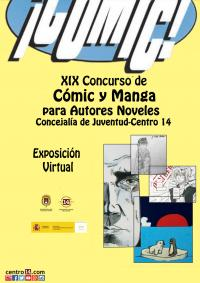 Exposición virtual Concurso de Cómic y Manga Centro 14