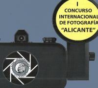 """Imagen cartel """"I Concurso Internacional de fotografía de Alicante""""."""
