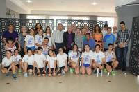 Homenaje al veterano corredor alicantino José Moratinos
