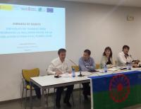 Natxo Bellido exposa la labor municipal en inclusió social del poble gitano