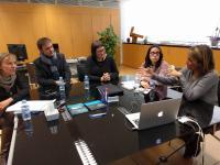 Ayuntamiento y la Sede Ciudad de Alicante estudian estrechar la colaboración en materia de salud y calidad de vida