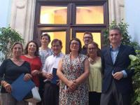 L'ALDES renova els convenis amb APSA. Cruz Roja y Fundación Secretariado Gitano
