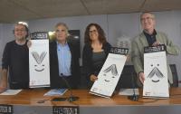 Rafa Burgos, José Antonio López Vizcaíno, la concejala María Dolores Padilla y Vicente Pina, en la presentación