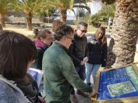 Presentación sendero parque Lo Morant