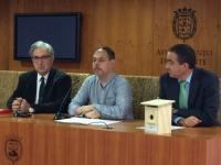 Víctor Domínguez y Pablo Segarra presentan las actividades del Día del Árbol