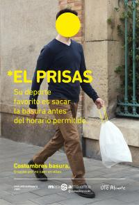 Campaña 'Costumbres Basura'