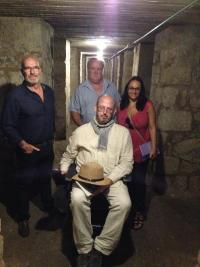 Memòria Històrica trenca les barreres d'accés al refugi de Sèneca