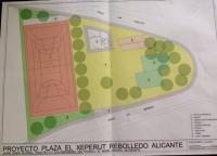 Plano plaza Lo Cheperut