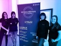 Foto rueda de prensa -Patricia Capella , Begoña Ferre, Cande Sanchez y Elizabeth Spiegel