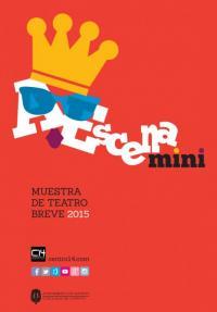 Imagen cartel Muestra de Teatro Breve 2015