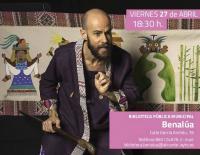 Cartel de Alberto Celdrán alusivo a su próxima función en Benalúa