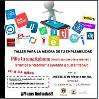 píldora informativa sobre el uso del móvil y las APPs de empleo