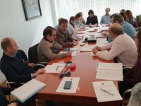 Reunió de coordinació del Pla de Ciutat