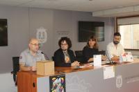 Imagen de la Rueda de prensa. Paco Martínez, Daniel Simón, Miriam Gilabert y Raúl Rodriguez