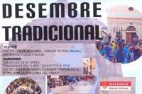 """Los actos, en el cartel de """"Desembre tradicional"""""""