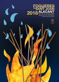 Cartel Oficial Fogueres 2018