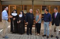 El alcalde, Luis Barcala, se entrevistó con las madres clarisas para desatascar el problema heredado