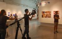 Sala principal del Centro de las Artes, que acoge las exposiciones de la Convocatoria abierta