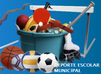 Cartel Deporte Escolar