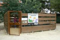Punto compostaje comunitario