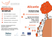 lanzadera de empleo Alicante 2018