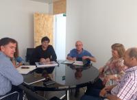 Pavón se reúne con vecinos de Lo Xeperut Proyecto urbanización plaza