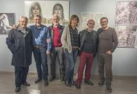 Algunos miembros del colectivo organizador de los Encuentros Alicante FotoArte