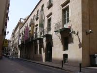 Palacio Gravina - Vista de la fachada principal